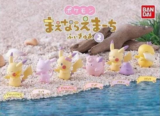 【動漫瘋】日本正版 轉蛋 神奇寶貝 蠟筆色 排排站 蠟筆色 排排站 精靈寶可夢排隊遊行 P2 全6種