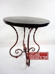 INPHIC-歐式  簡約 鐵藝圓桌