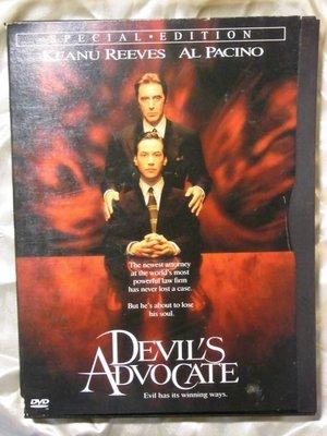 Devil's Advocate魔鬼代言人特別版基努李維Keanu Reeves艾爾帕西諾(教父) 莎莉賽隆(極凍之城)