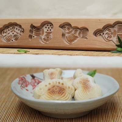 5Cgo 【批發】含稅會員有優惠 26817084826 月餅南瓜餅清明果卡花饅頭面點|烘焙 木憶手工雕刻 木質模具