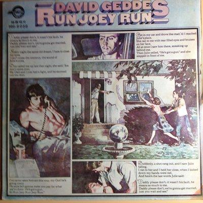 Q5黑膠唱片 DAVID GEDDES RUN JOEY RUN 新北市