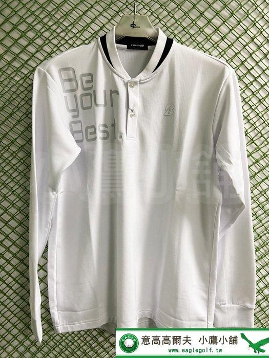 [小鷹小舖] BRIDGESTONE GOLF SGM05F 普利司通 高爾夫 男仕 長袖上衣 吸汗 防寒 抗UV 保暖