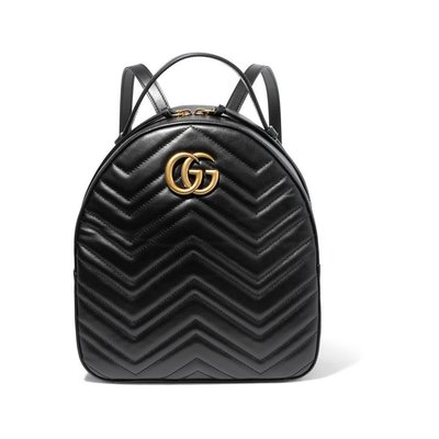 【KoKo奢品】 GUCCI GG Marmont quilted leather backpack後揹包