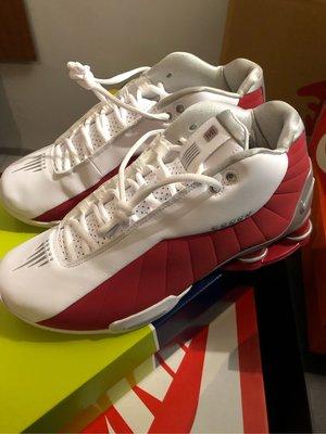 Nike Shox BB4 Toronto Raptors Carter 紅白 us 9.5 彈簧鞋