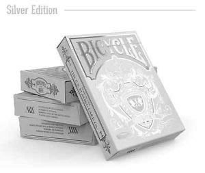 【USPCC撲克】Bicycle Hundred Years' War silver Playing Cards