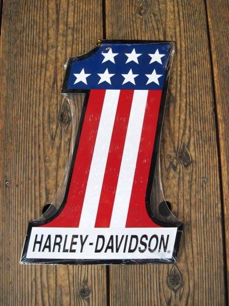 (I LOVE樂多)進口立體HARLEY DAVIDSON 鋁製看板.壁飾. 打造居家/車庫/酒吧/店家裝飾情境自己來