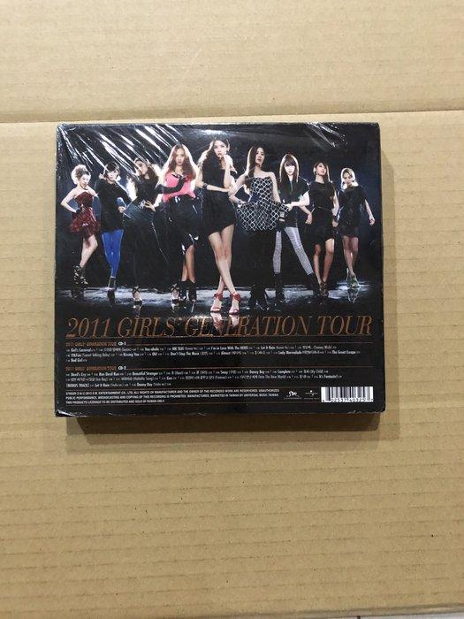 *還有唱片二館*少女時代 / 2011 TOUR 2CD 全新 A2143 (下標幫結)