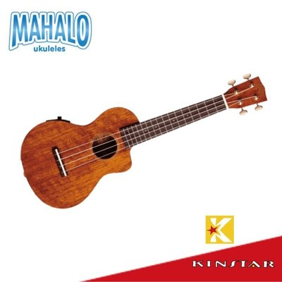 【金聲樂器】Mahalo 烏克麗麗 Hano Elite 缺角電烏克麗麗 B-Band拾音器 23吋