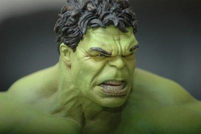 【烏龍1/2】sideshow 驚奇 Marvel 復仇者聯盟 The Avengers 李安 綠巨人 Hulk 無敵 浩克 Maquette 雕像