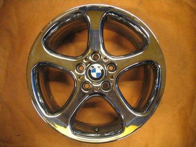 【益和輪胎】5孔120 BMW E53 X5 18吋美規原廠電鍍鋁圈 BMW E53 E70皆適用.....
