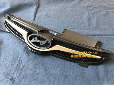 ※寶捷國際※ 14~16 HYUNDAI ELANTRA EX 原廠式樣 電鍍鎳黑 水箱罩 863503X700台灣製造