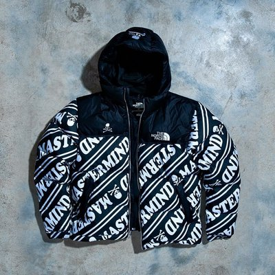 The North Face Urbanexploration x Mastermind 連帽羽絨外套 亞洲版M