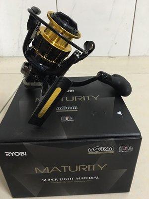 《屏東海豐》日本製 RYOBI MATURITY 4+1培林 6000型 紡車式捲線器