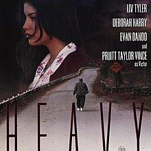 愛你的心-Heavy (1995)原版電影海報