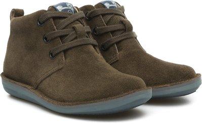 全新專櫃真品 Camper Beetle 90203-042 麂皮童鞋EU26號現貨賠售童靴子Kids