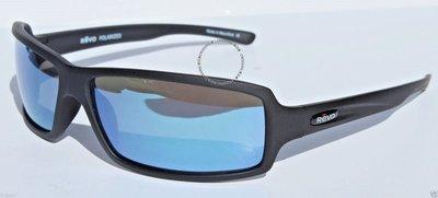 REVO Thrive X太陽眼鏡POLARIZED磨砂黑/水藍新RE4037X-11運動