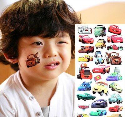 愛卡的玩具屋 卡通紋身貼紙 防水 兒童...