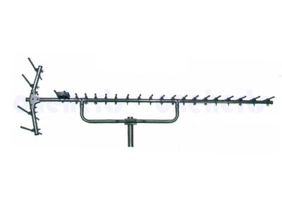 現貨供應 YT-2004S 台灣製 全新不銹鋼大蜈蚣王 超強不鏽鋼數位天線20節.反射波4節共24節 大樓指定專用