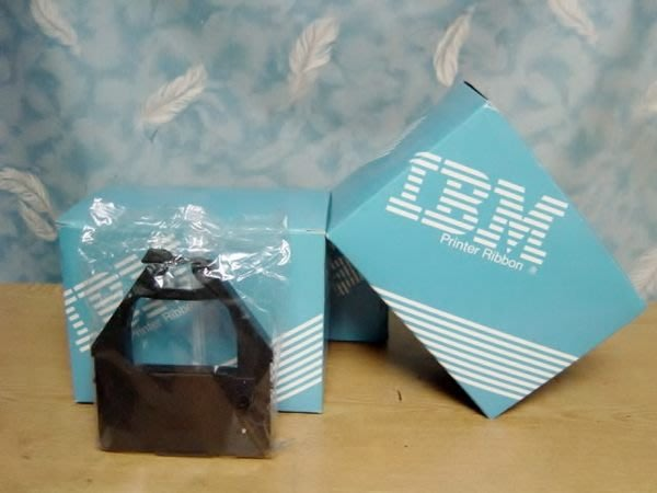Y【小劉2手家電】全新没拆封的IBM日本製印表機色帶,645471T型