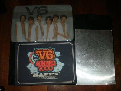 【日本偶像團體V6】2000年