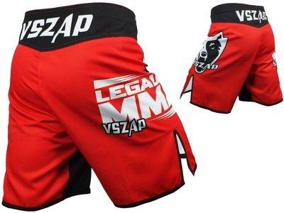 ㊣-緊衣衛-㊣VSZAP Legalize短褲 MMA UFC 格鬥泰拳武林風訓練服
