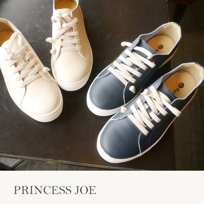 ☆╮喬伊公主╭☆【Es07418】新色專櫃2780超軟全真皮素面休閒鞋女鞋綁帶小白鞋-MIT