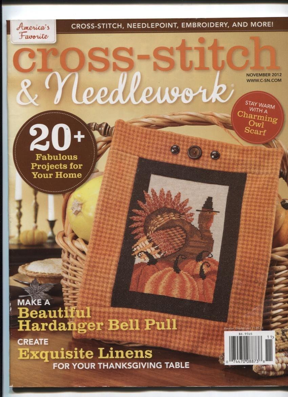 紅蘿蔔工作坊/美國刺繡手工藝書=Cross -Stitch&needlewqrk 2012年