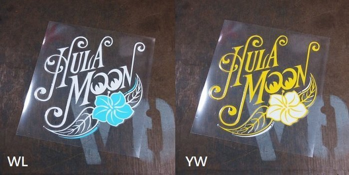 (I LOVE樂多)原版Hula MOONEYES Flower Sticker衝浪系貼紙