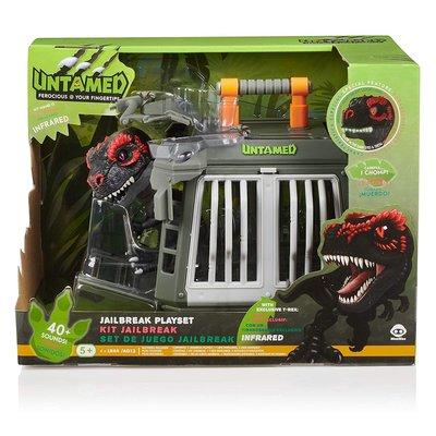 WowWee Fingerlings Untamed Jailbreak T-Rex 手指暴龍含牢籠 ~ 請詢問庫存