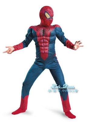 Spiderman Movie 蜘蛛人肌肉服裝~萬聖節造型表演~妍媽咪兒童禮服出租