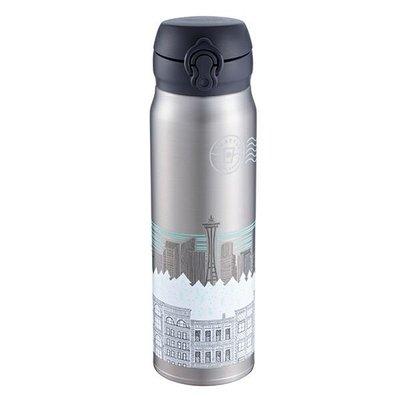 台灣直送 Starbucks 星巴克 城市 銀黑色 保冷杯 保暖杯
