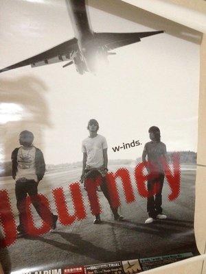 W-INDS JOURNEY 風的旅程 專輯海報