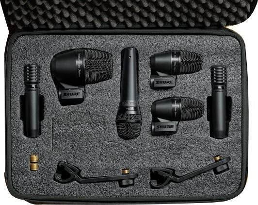 【六絃樂器】全新 Shure PGADrumKIT6 鼓組收音麥克風套裝 新麗聲公司貨 / 舞台音響設備 專業PA器材