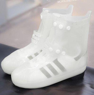 防雨鞋套正韓 戶外時尚雨鞋套防水防雨鞋套 雨天防滑加厚耐磨雨靴套【全館免運】