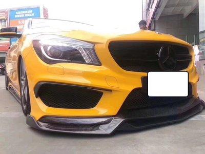 法克斯 Benz CLA 45 AMG R1碳纖維卡夢前下巴