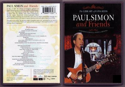 音樂居士#保羅西蒙 Paul Simon & Friends The Library of Congress () DVD