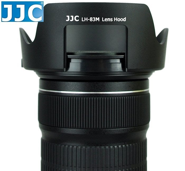 又敗家JJC Canon副廠遮光罩EW-83M遮光罩24-105mm f3.5-5.6 IS STM f4 II相容原廠Canon遮光罩EW-83M太陽罩USM