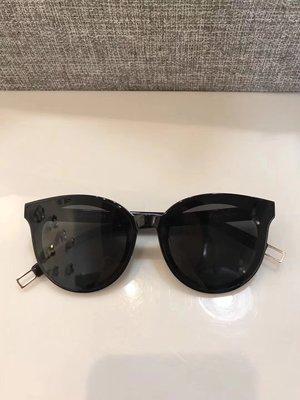【海洋之心二館】Gentle monster V牌 Black peter系列 黑框黑色鏡面太陽鏡