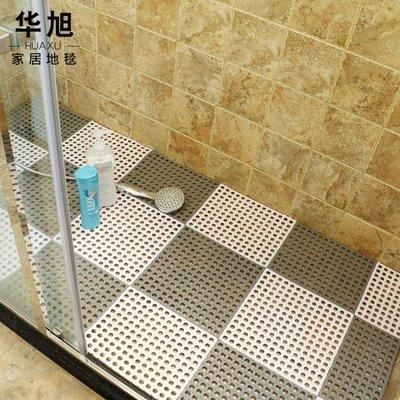 浴室防滑墊衛生間拼接墊大號洗手間廁所隔水腳墊地淋浴房洗澡墊子    全館免運