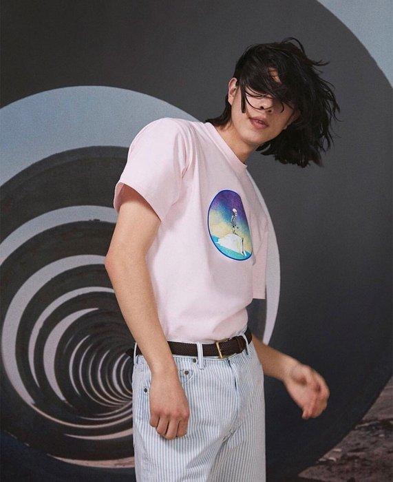 全新商品 NOAH NYC 19SS TRAGEDY OF COMMONS ICEBERG 短袖 TEE 粉色XL