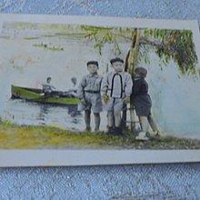 藍色小館10-4--------約60年代.小孩彩藝照
