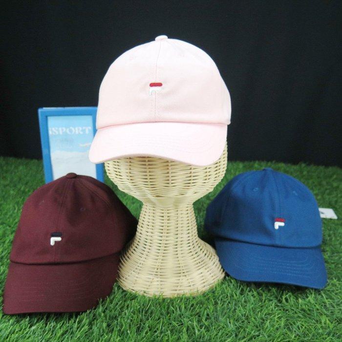 【iSport代購】正韓 流行 韓系 限量販售 FILA 老帽 可調式 經典 F3/FS3CPZ- 三色