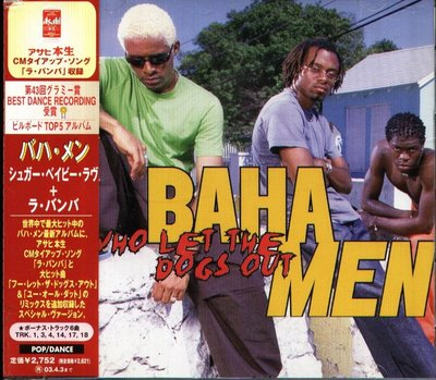 K - BAHA MEN WHO LET THE DOGS OUT SPECIAL - 日版 +6BONUS - NEW