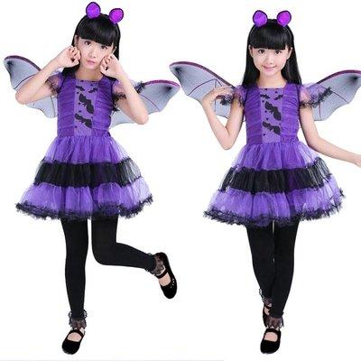 新款萬聖節兒童cosplay表演服裝女...