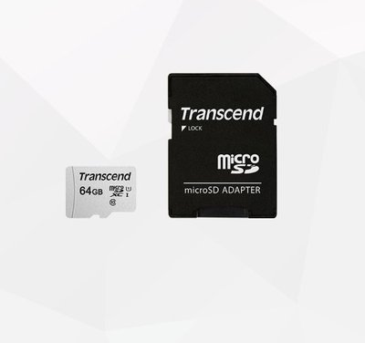 J005【創見 64G 記憶卡 】microSDXC/ SDHC Class 10 UHS-I 300x 相機/ 手機 可用 台北市