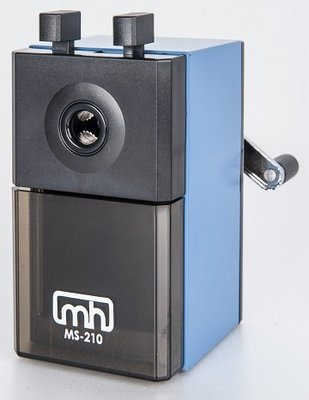 MS-210 藍色可調式鉛筆機 (鉛筆直徑7~12mm通用) 好好逛文具小舖