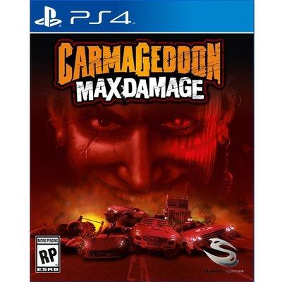 (全新封膜不完美) PS4 死亡賽車:再生 英文美版 Carmageddon: Max Damage