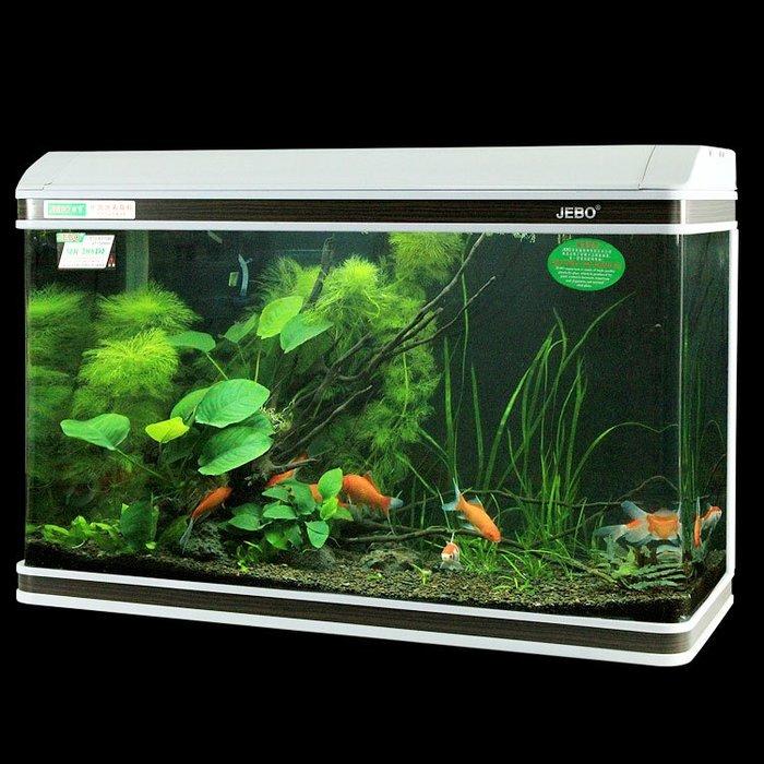 佳寶60cm金魚缸超白1米1.2米1.5米生態玻璃水族箱方形80YS
