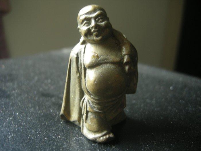 銅器(彌勒佛)鎏金銅早期老一件***(特價商品)