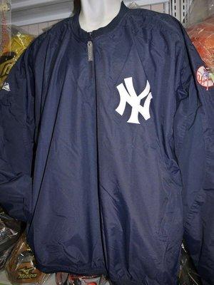 貳拾肆棒球-日本帶MLB美國大聯盟紐約洋基球員版風衣Majestic X SSK聯名